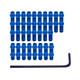DMR Vault pedaal FlipPin set blauw
